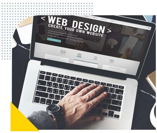 Création de sites web optimisés